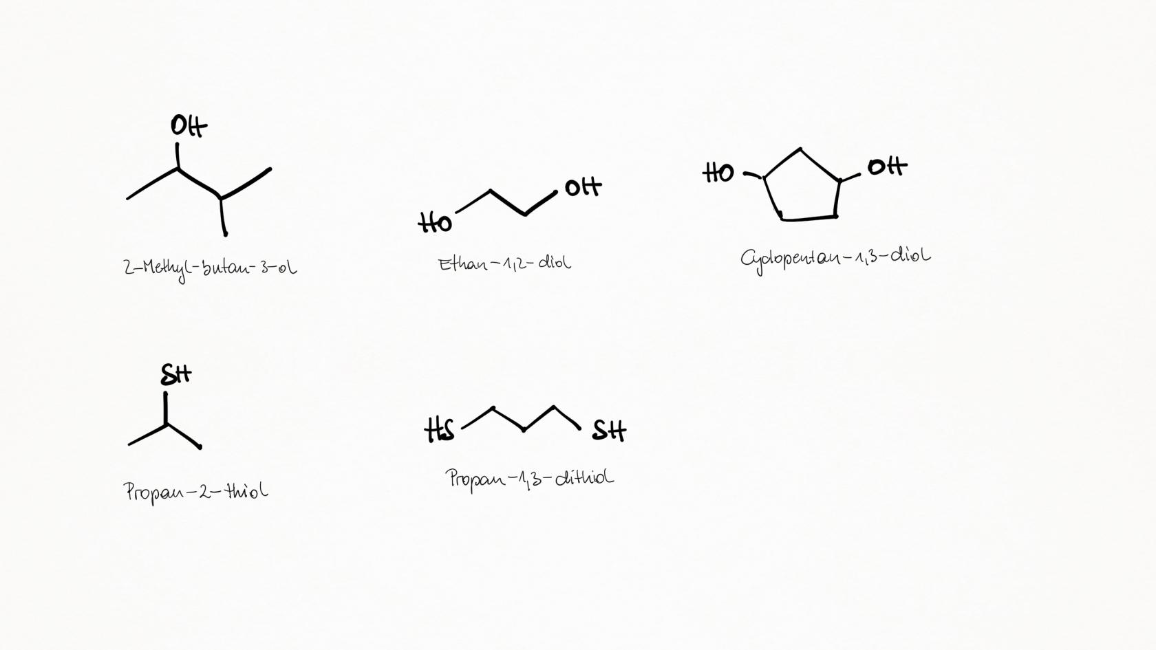 Nomenklatur Organische Chemie